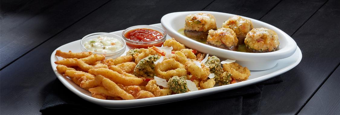 Create Your Own Appetizer Combination