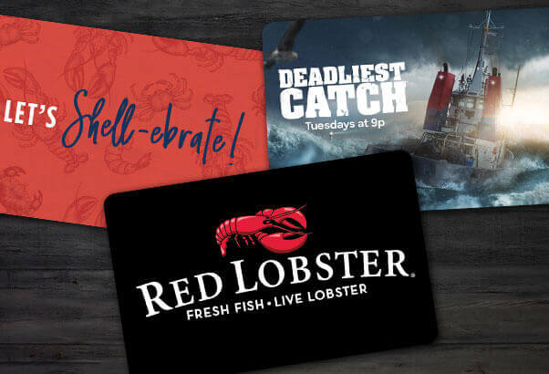 Three Red Lobster gift cards