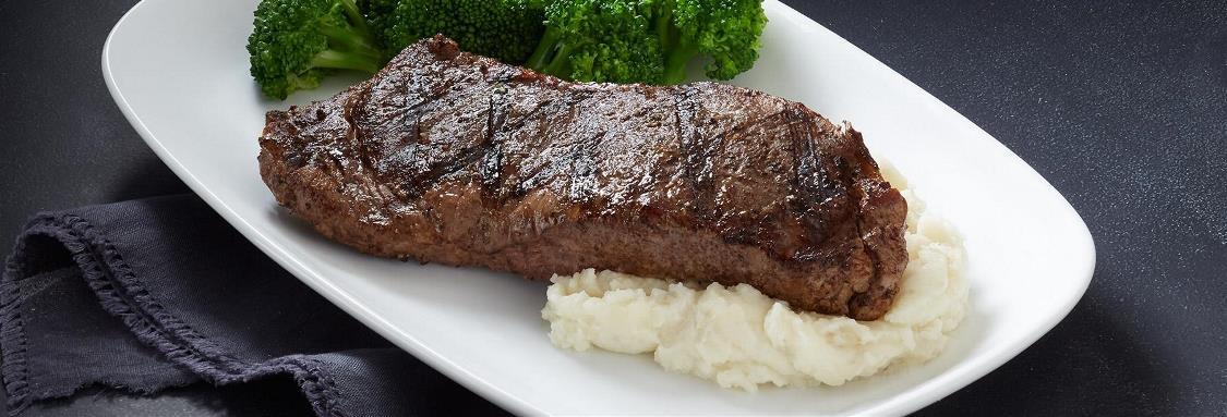 Fire-Grilled New York Strip Steak