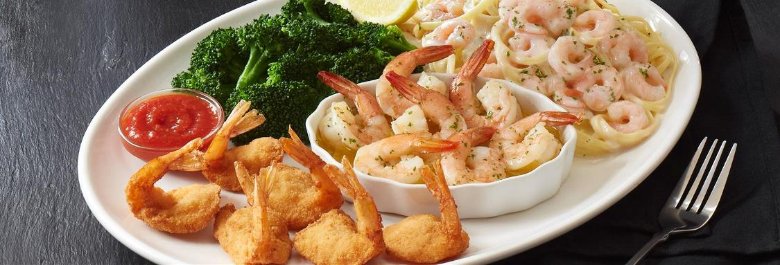 Seaside Shrimp Trio