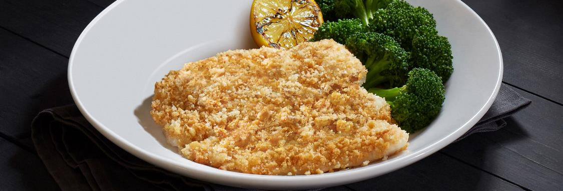 Cheese-Crusted Fresh Tilapia