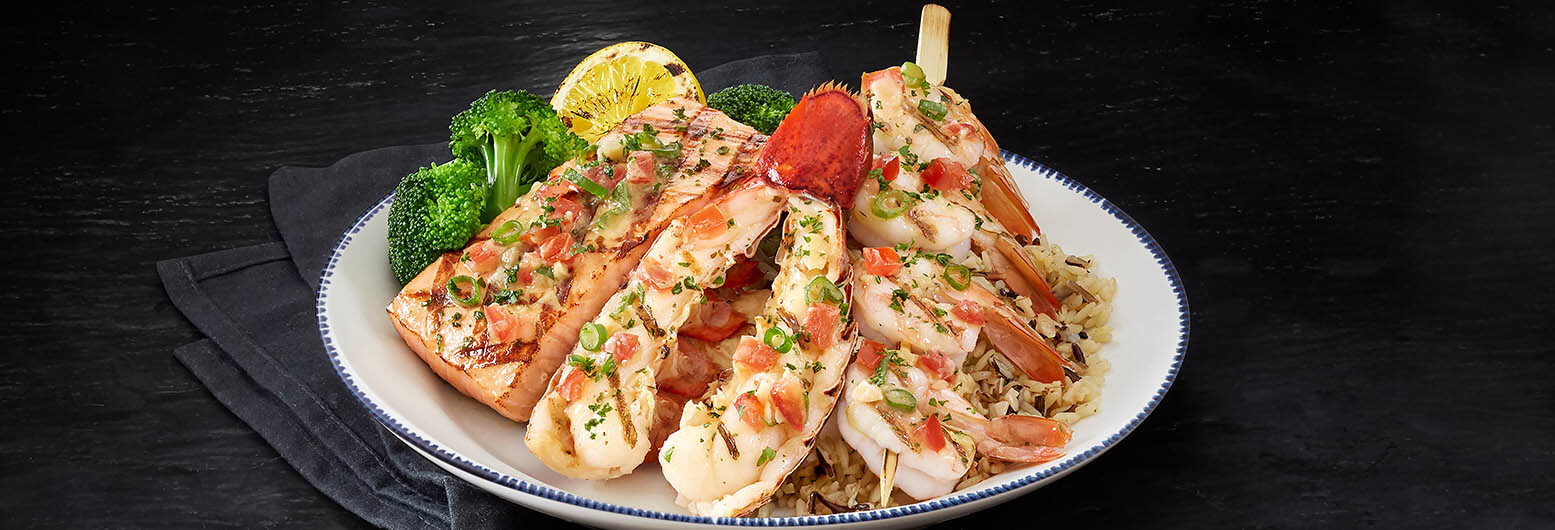 Fire-Grilled Lobster, Shrimp and Salmon | Red Lobster Seafood Restaurants